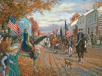 The Whiskey Rebellion - Washington at Carlisle 1794