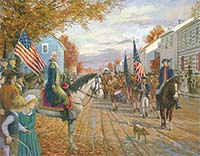 Washington at Carlisle, Whiskey Rebellion